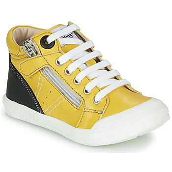 Zapatos Niño Zapatillas altas GBB ANATOLE Amarillo