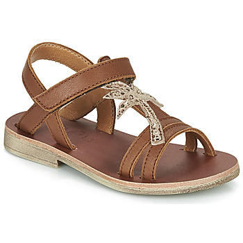Zapatos Niña Sandalias GBB SAPELA Marrón