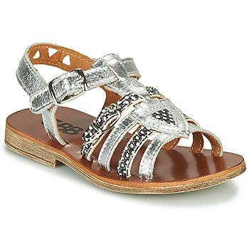 Zapatos Niña Sandalias GBB FANNI Plata