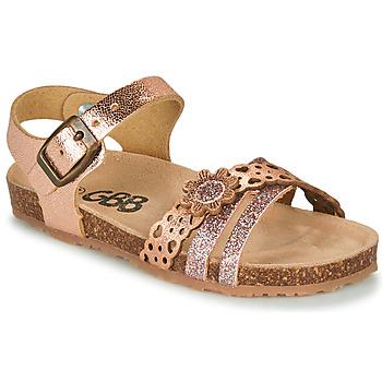 Zapatos Niña Sandalias GBB PANORA Rosa / Gold