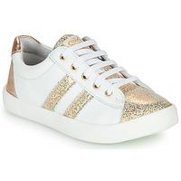 Zapatos Niña Zapatillas bajas GBB MAPLUE Blanco / Oro