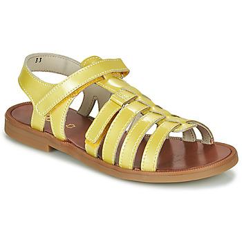 Zapatos Niña Sandalias GBB KATAGAMI Amarillo