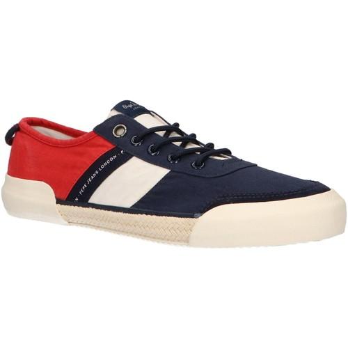 Zapatos Hombre Zapatillas bajas Pepe jeans PMS10250 CRUISE Azul