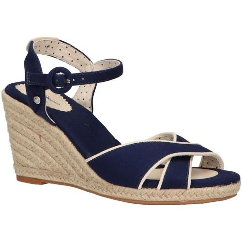 Zapatos Mujer Alpargatas Pepe jeans PLS90404 SHARK Azul