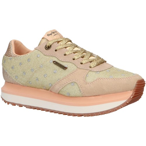 Zapatos Mujer Multideporte Pepe jeans PLS30827 ZION Gold