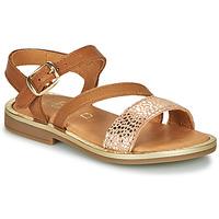 Zapatos Niña Sandalias GBB FANA Cognac