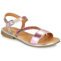 Zapatos Niña Sandalias GBB FANA Rosa / Multicolor