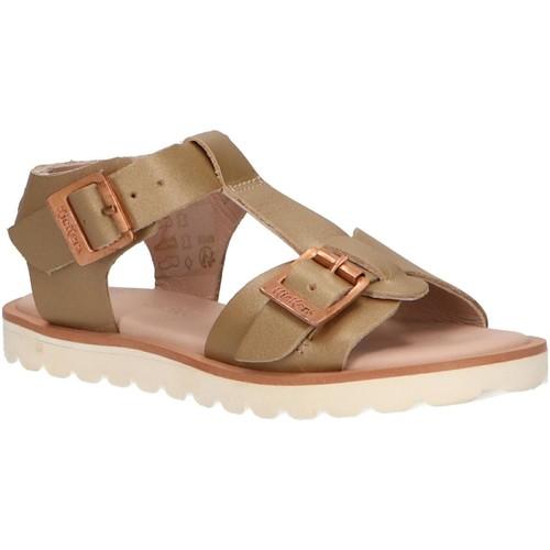 Zapatos Niña Sandalias Kickers 694641-30 ISABELA Gold