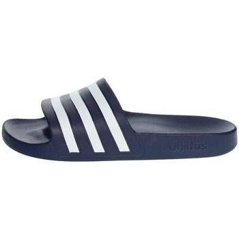 Zapatos Hombre Chanclas adidas Originals Adilette Aqua Slides Azul marino