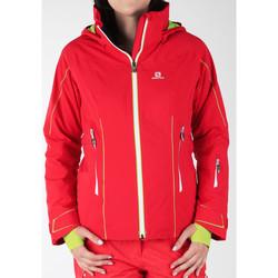 textil Mujer Cortaviento Salomon Whitecliff GTX 374720 rojo