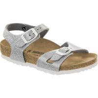 Zapatos Niños Sandalias Birkenstock 831783 Argento
