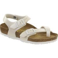Zapatos Niña Sandalias Birkenstock 371593 Bianco