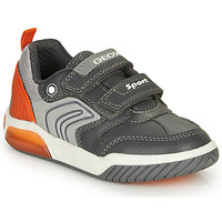 Zapatos Niño Zapatillas bajas Geox INEK BOY Gris