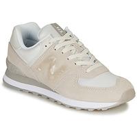 Zapatos Mujer Zapatillas bajas New Balance WL574WNT Beige