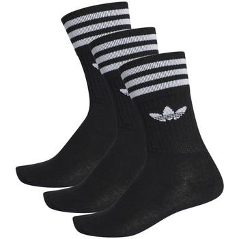 Accesorios textil Hombre Calcetines adidas Originals Solid crew sock Negro