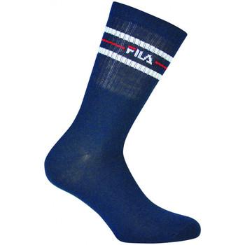 Accesorios textil Hombre Calcetines Fila Normal socks manfila3 pairs per pack Azul
