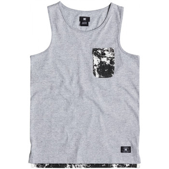 textil Niños Camisetas sin mangas DC Shoes Owensboroby b Gris
