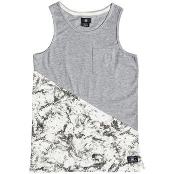 textil Niños Camisetas sin mangas DC Shoes Bloomingtonb b Blanco