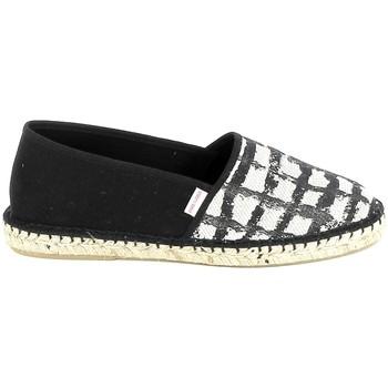 Zapatos Mujer Alpargatas Pare Gabia PARE GABIA VP Mix Noir Blanc Negro