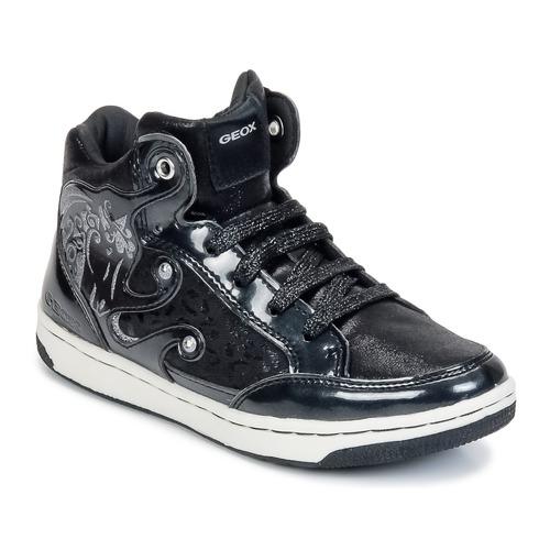 Zapatos Niña Zapatillas altas Geox CREAMY A Negro