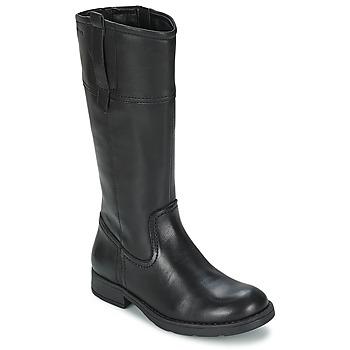 Zapatos Niña Botas urbanas Geox SOFIA B Negro