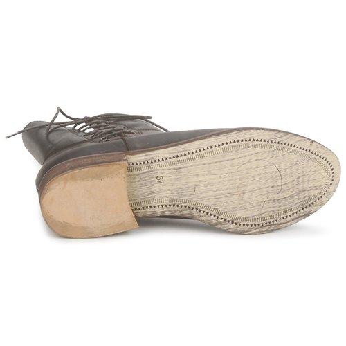 Caña Botas Ringo Stephane Marrón Zapatos Mujer Baja Gontard De CoxerBd