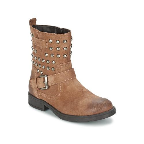 Zapatos Niña Botas urbanas Geox SOFIA C Marrón