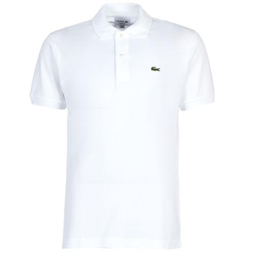 textil Hombre Polos manga corta Lacoste POLO L12 12 REGULAR Blanco
