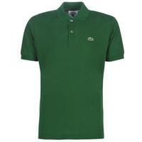 textil Hombre Polos manga corta Lacoste POLO L12 12 REGULAR Verde