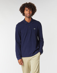 textil Hombre polos manga larga Lacoste L1312 Marino