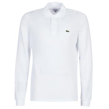 textil Hombre polos manga larga Lacoste L1312 Blanco
