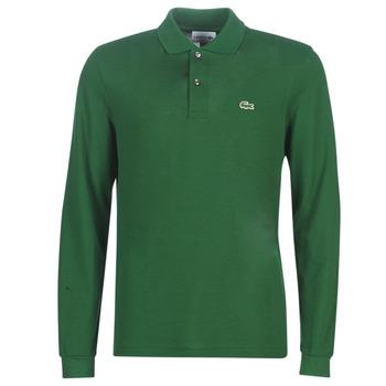 textil Hombre Polos manga larga Lacoste L1312 Verde