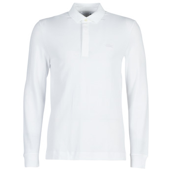 textil Hombre polos manga larga Lacoste PH2481 REGULAR Blanco