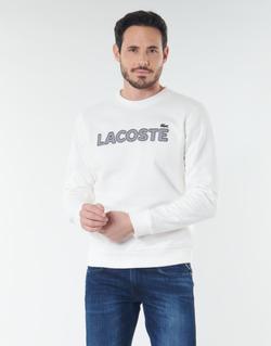 textil Hombre sudaderas Lacoste SH8632 Blanco