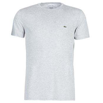 textil Hombre camisetas manga corta Lacoste TH6709 Gris