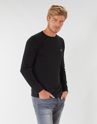 textil Hombre Camisetas manga larga Lacoste TH6712 Negro