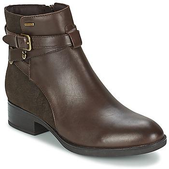 Zapatos Mujer Botas de caña baja Geox FELICITY ABX B Café