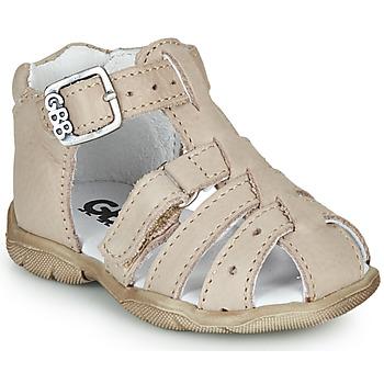 Zapatos Niño Sandalias GBB ARIGO Blanco / Roto