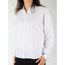 textil Mujer Camisas Wrangler Relaxed Shirt W5213LR12 blanco