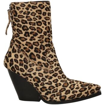 Zapatos Mujer Botines Poesie Veneziane CAVALLINO SAFARI leopa-leopardo