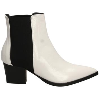 Zapatos Mujer Botines Lemaré HARRODS ELASTICO biane-bianco-nero