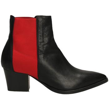 Zapatos Mujer Botines Lemaré TEXAS CON ELASTICO neros-nero-rosso