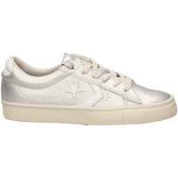 Zapatos Mujer Zapatillas bajas All Star PRO LEATHER VULC OX silwh-argento-bianco