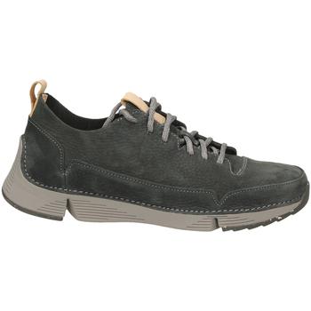 Zapatos Hombre Derbie Clarks TRI SPARK dkgre-grigio-scuro