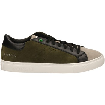 Zapatos Hombre Zapatillas bajas Womsh SNIK milta-verde-marrone