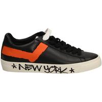 Zapatos Hombre Zapatillas bajas Pony TOP STAR OX whibl-bianco-nero