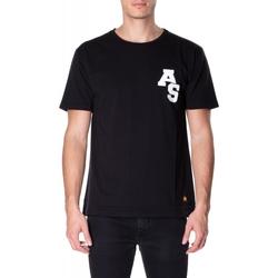 textil Hombre camisetas manga corta Atlantic Star Apparel T-SHIRT col-5-nero