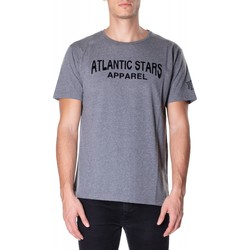textil Hombre Camisetas manga corta Atlantic Star Apparel T-SHIRT col-2-grigio-chiaro