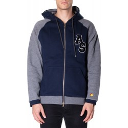textil Hombre Sudaderas Atlantic Star Apparel FELPA col-2-blu-grigio
