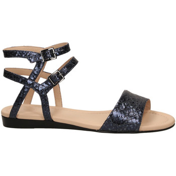 Zapatos Mujer Sandalias What For BENOU dblue-blu-scuro